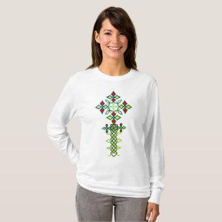 Ethiopian Cross Long Sleeve T-Shirt