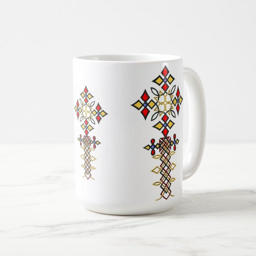 Ethiopian Cross Mugs