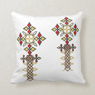 Ethiopian Cross Pillows