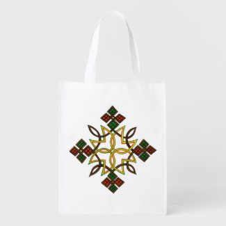 Ethiopian Cross Reusable Bags, Hoodies, T-Shirts