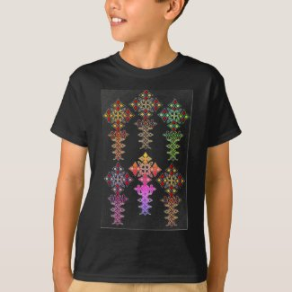 Ethiopian Cross T-Shirt - Boys