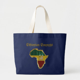 Ethiopian Empress Large Tote Bag