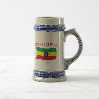 Ethiopian Flag 2 Coffee Mugs