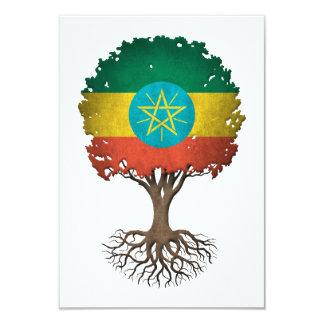 Ethiopian Flag Tree of Life Customizable Card
