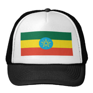 Ethiopian Flag Trucker Hat