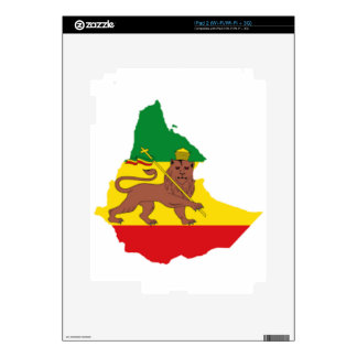 Ethiopian flags pr line 👍😂😂👌 decal for iPad 2