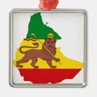 Ethiopian flags pr line 👍😂😂👌 metal ornament