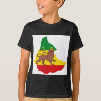 Ethiopian flags pr line 👍😂😂👌 T-Shirt