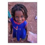 Ethiopian Girl Card