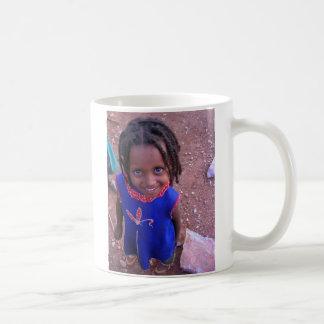 Ethiopian Girl Card Coffee Mug