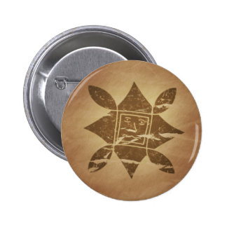 Ethiopian Good Luck Charm V2 Pinback Button