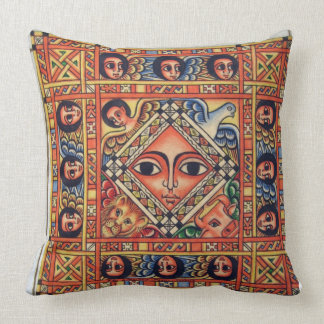 Ethiopian Icon Throw Pillow