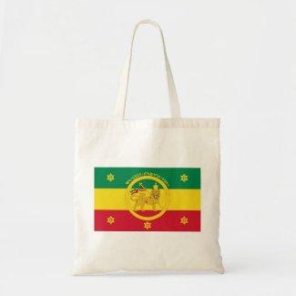 Ethiopian Imperial Flag - Haile Selassie I Reign Canvas Bags