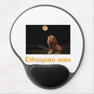 Ethiopian man gel mouse pad