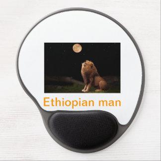 Ethiopian man gel mouse pad