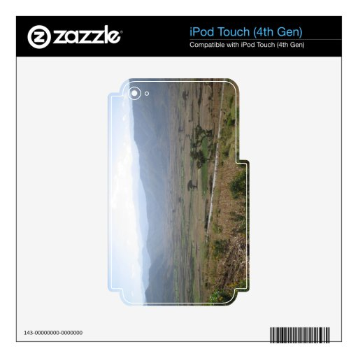 Ethiopian Mountains iPod Skin