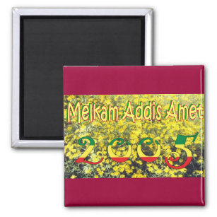 Ethiopian new year gifts on zazzle ethiopian new year magnet m4hsunfo
