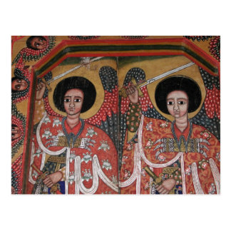 Ethiopian Orthodox Church Angel Icon Postcard