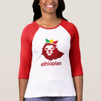 Ethiopian Power - Women's Bella 3/4 Sleeve T-Shirt