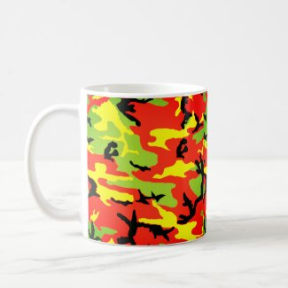 Ethiopian Rastafari Camouflage - Classic Mug