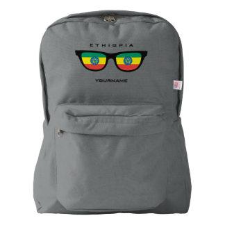Ethiopian Shades custom backpacks