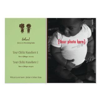 Ethiopian Sibling Adoption Announcement