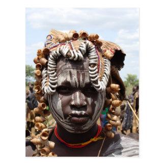 Ethiopian Woman Postcard