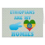 Ethiopians es mi Homies Felicitación