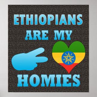 Ethiopians es mi Homies Póster