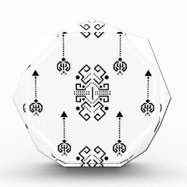 Aztec Themed Ethnic abstract design award