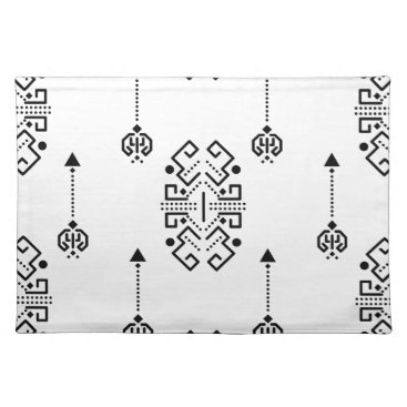 Aztec Themed Ethnic abstract design cloth placemat