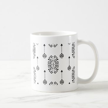 Aztec Themed Ethnic abstract design coffee mug