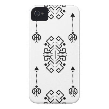 Aztec Themed Ethnic abstract design iPhone 4 cover
