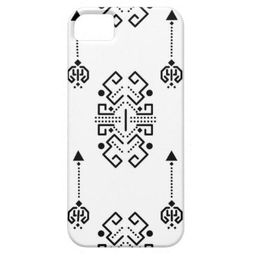 Aztec Themed Ethnic abstract design iPhone SE/5/5s case