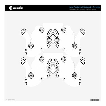 Aztec Themed Ethnic abstract design PS3 controller skins