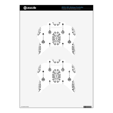 Aztec Themed Ethnic abstract design xbox 360 controller skins