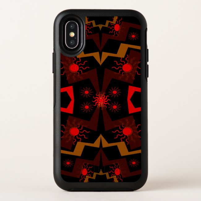 Ethnic Abstract Pattern OtterBox iPhone X Case