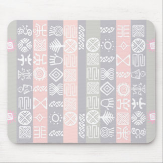 Ethnic African Boho Design Mouse Pad