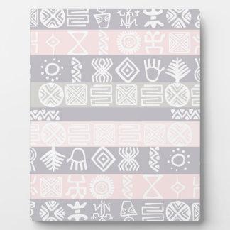 Ethnic African Boho Design - Plaque