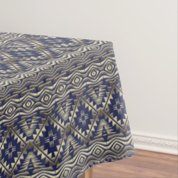 Aztec Themed ethnic african seamless pattern tablecloth