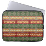Ethnic african tribal  striped pattern. laptop sleeve