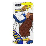 "Ethnic ""Angel of""Hope"" iPhone 5 Case"