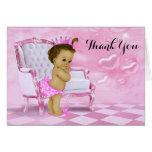 Ethnic Baby Girl Shower Thank You Stationery Note Card