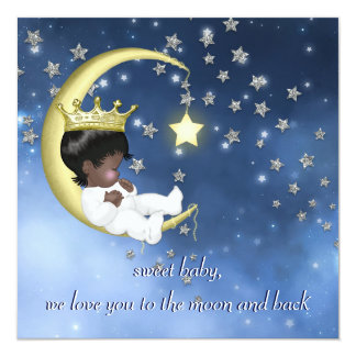 Ethnic Baby Shower Card