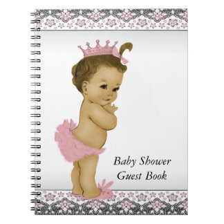 Ethnic Baby Shower Guest Book Notebook