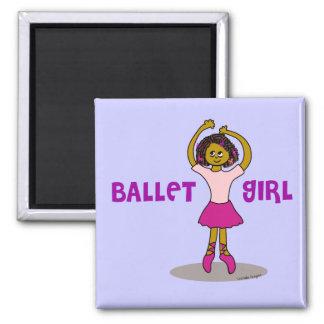 Ethnic Ballerina Magnet