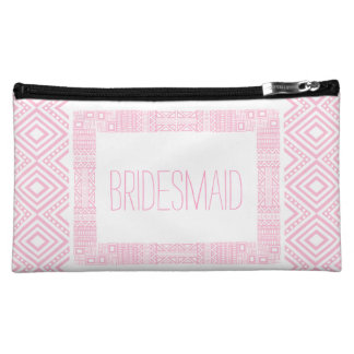 Ethnic Boho Will you be my Bridesmaid 1 Makeup Bag
