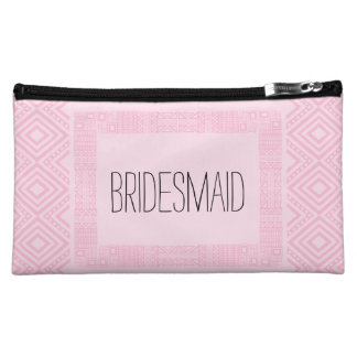 Ethnic Boho Will you be my Bridesmaid 2 Cosmetic Bag