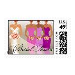 ETHNIC BRIDE 2 Bridal Shower | purple Postage