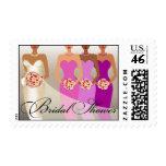 ETHNIC BRIDE Bridal Shower   purple Stamp